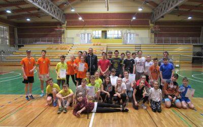 Ekipno občinsko tekmovanje v badmintonu 2020